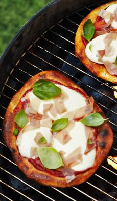 How To Grill A Homemade Pizza — Shake things up for your next cook out in just 8 steps with this easy grilled meal or appetizer. Try it with our Chicken Pizza recipe [http://www.rightathome.com/Food/Recipes/Pages/ChickenPizza.aspx] or even Grilled Fruit Pizza [http://www.rightathome.com/Food/Recipes/Pages/GrilledFruitPizza.aspx] for dessert. #bbq #party #grilling