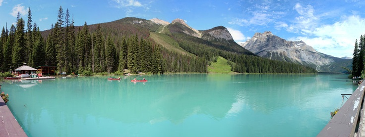 Emerald Lake - No Edit Pano  Photo by Carl Brownell/Joe-Lynn Design