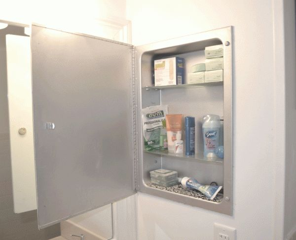 small bathroom medicine cabinets metal recessed medicine chest give it a facelift 20479