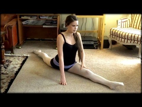Stretches for Beginning Ballet - Daily Stretching Routine - How to Get Your Splits! - YouTube