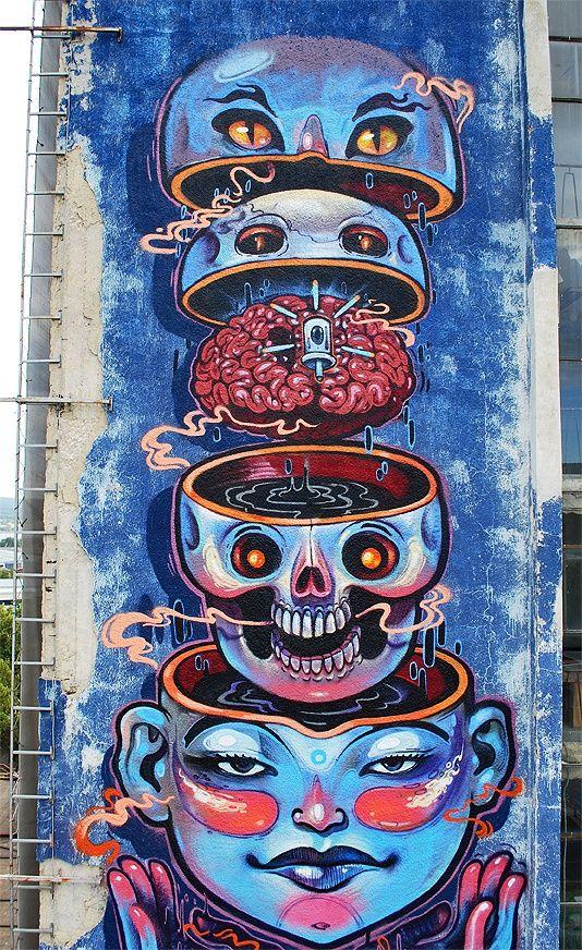 NASIMO – Girls and cats. DESIGNWARS - Inspiration Daily Graffiti Art, ArtDESIGNWARS Street - Inspiration Daily Graffiti Art, St… | Appealing to My Eyes | Pinte…