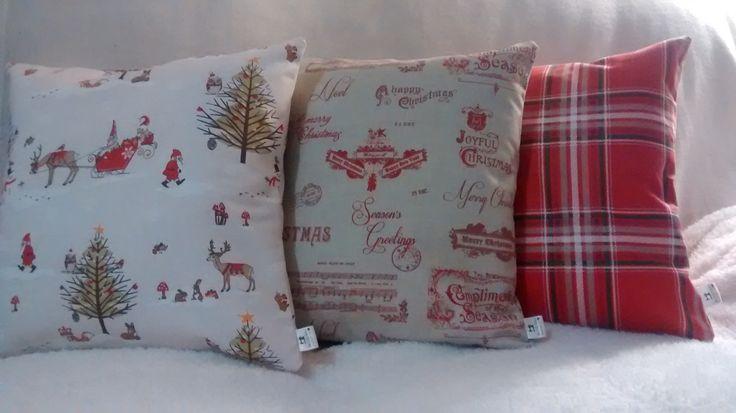 Christmas Cushions -  Christmas Woodland, Christmas Vintage & Christmas Tartan.