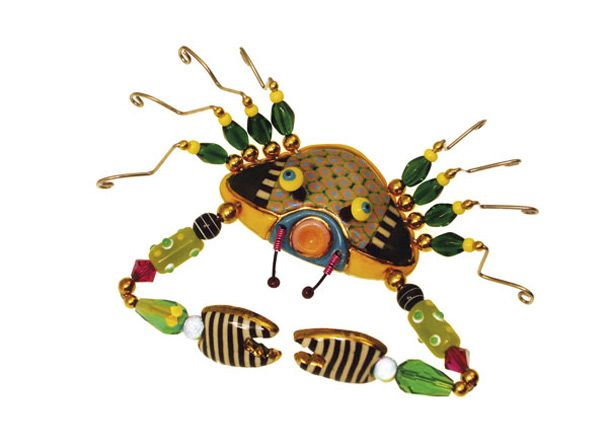 Cynthia Chuang. Crabby Crab. Love her pieces.