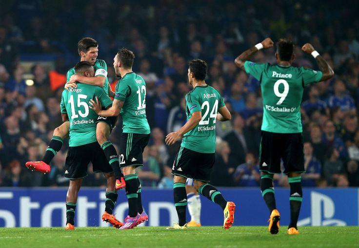 @Schalke mannschaft feiern #9ine