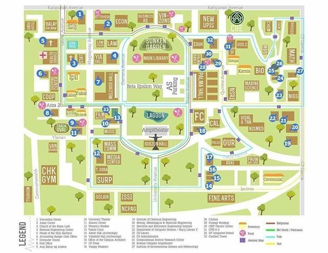 up main campus map Up Diliman Ctto Enrollment Campus Map Diliman Instagram up main campus map