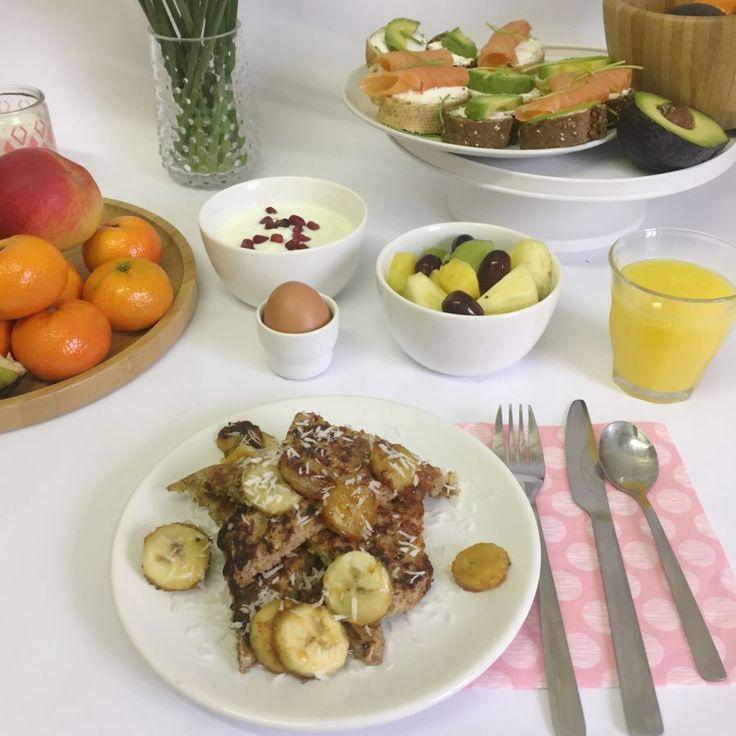 I Love Health   Recept voor de lekkerste wentelteefjes met gebakken banaan!   http://www.ilovehealth.nl