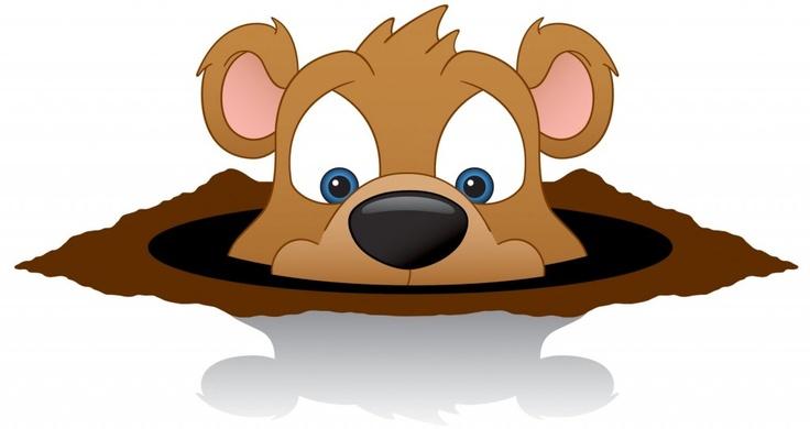 Happy Groundhog Day Clip Art | Groundhog Day | Pinterest
