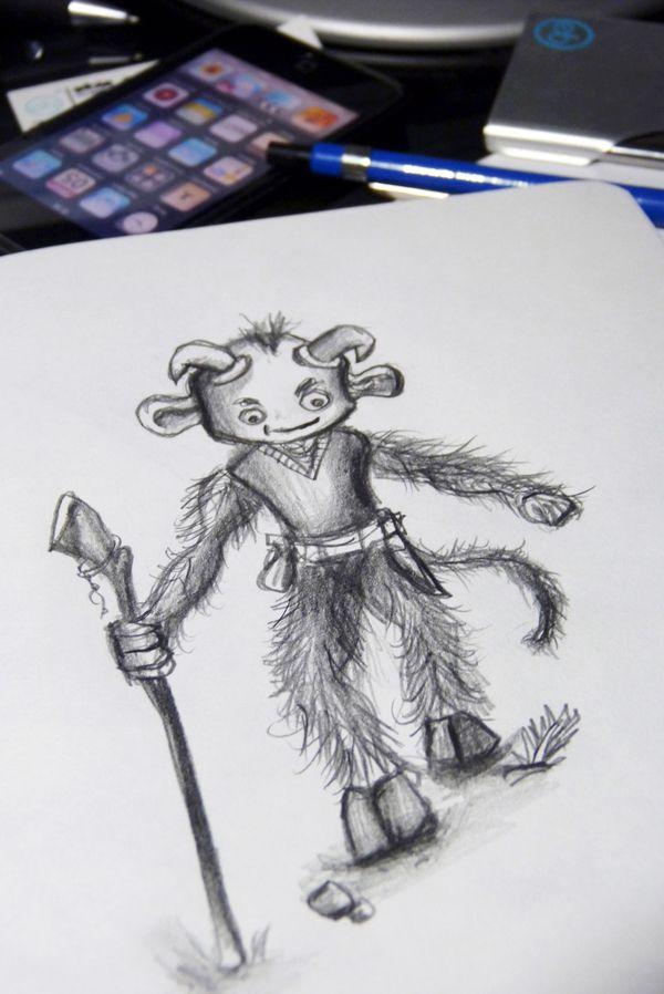 Bocetos, esbozos y sketches P2