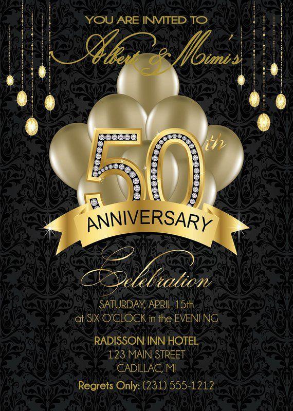 Прикольные картинки приглашение 50 лет