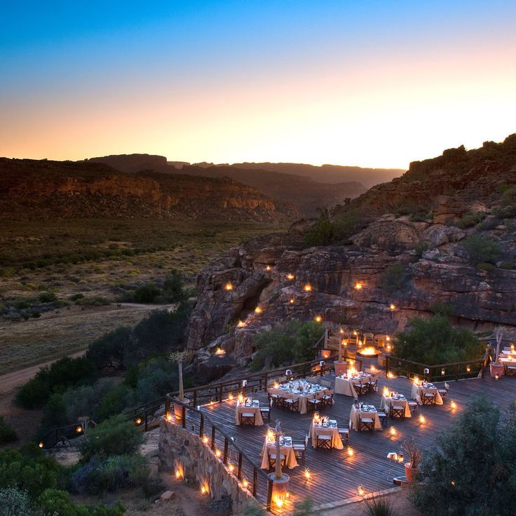 Bushmans Kloof Wilderness Reserve & Wellness Retreat Clanwilliam, South Africa sky mountain night Nature Town evening Sunset dusk morning hill landscape cityscape dawn aerial photography sunrise hillside highway surrounded day