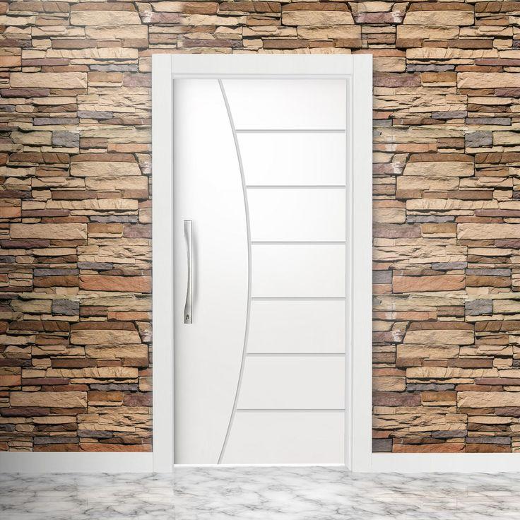 A porta de entrada da casa é importante! Escolha-a com muito cuidado! Não esqueça de verificar todas as medidas.
