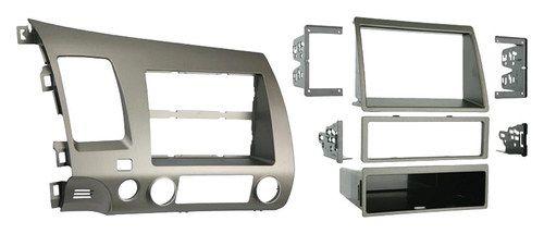 Metra - Installation Kit for 2006-2011 Honda Civic Vehicles - Taupe (Brown)