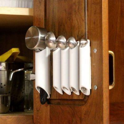 DIY PVC Pipe Storage Ideas - Hative