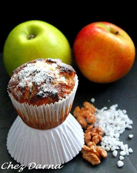muffins aux pommes noix et philadelphia