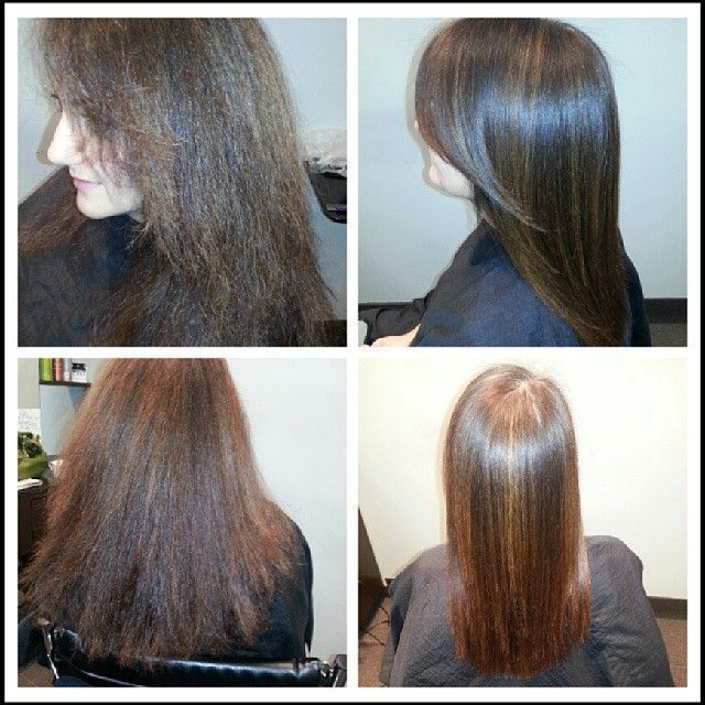 1000 Images About Keratin Treatment Before Amp After On