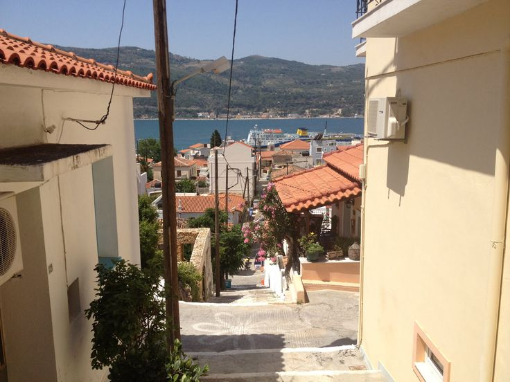 Samos stad, city of Samos, Vathy