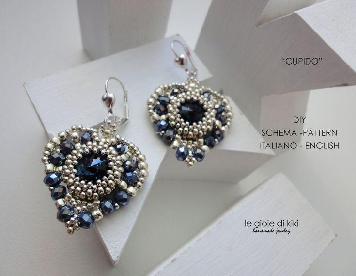 DIY Schema Cupid earrings by Legioiedikiki on Etsy