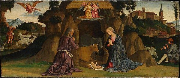 The Nativity Antoniazzo Romano