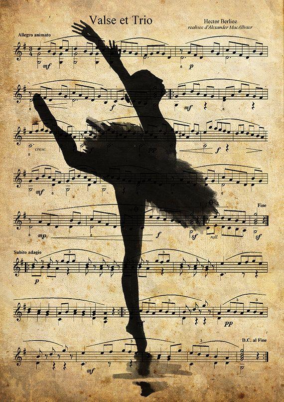 Print Art Ink Drawing Sketch Mixed Media Ballet Art by rcolo