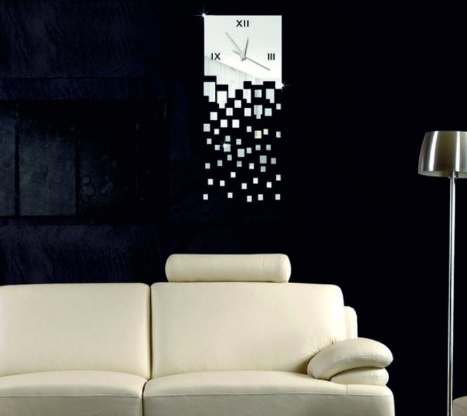 Die besten 25+ Spiegel Wanduhr Ideen auf Pinterest DIY Wanduhren - sch ne wanduhren wohnzimmermodernes wohnen wohnzimmer