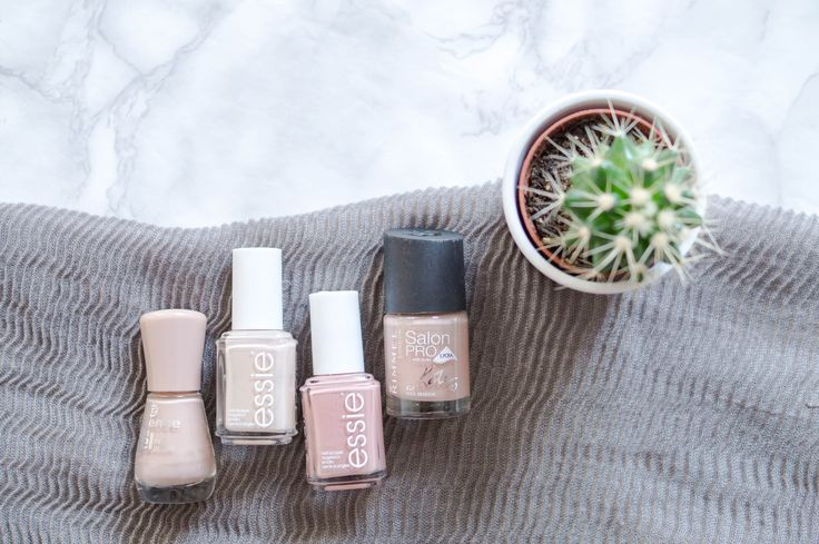 Today I am sharing my top four nude nail polish shades with you. Everything from Essie, to Rimmel London and Essence Cosmetics!