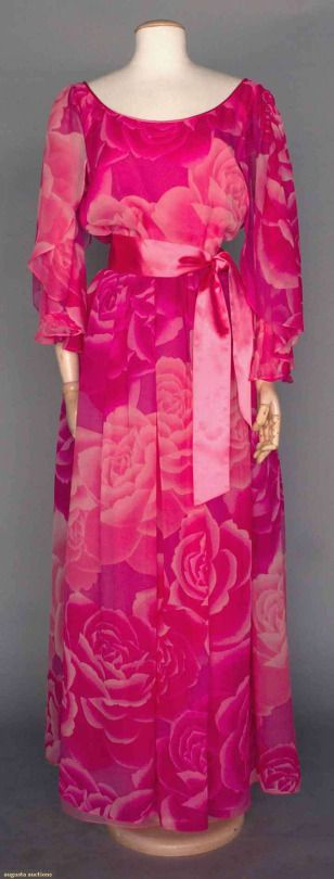 Dress Hanae Mori, 1980s Augusta Auctions
