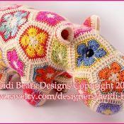 Happypotamus the Happy Hippo Crochet Pat - via @Craftsy corinna can you teach me how to make this