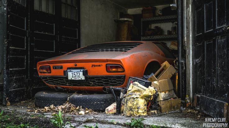 Inherited Bull: Lamborghini Miura - http://barnfinds.com/inherited-bull-lamborghini-miura/