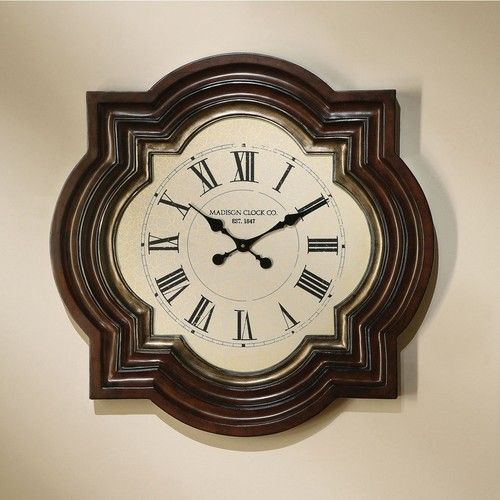 "Acme Furniture 31"""" Ali Collection Traditional Wall Clock 97092"