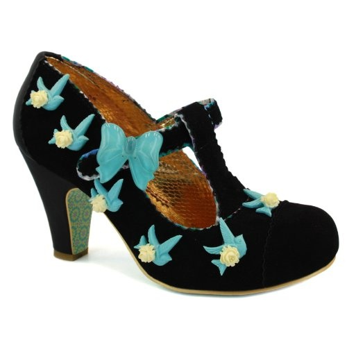 Irregular Choice - I love these, so much fun! Although I can't wear them without worrying the little bird-appliques might fall off
