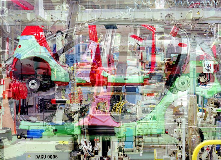 "Stéphane #Couturier - ""Melting Point Toyota n° 12"" - © Stéphane Couturier - courtesy l'artista e Galerie Polaris"