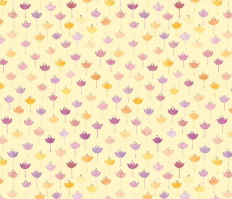 crocus2 fabric by viktoria_rodek on Spoonflower - custom fabric