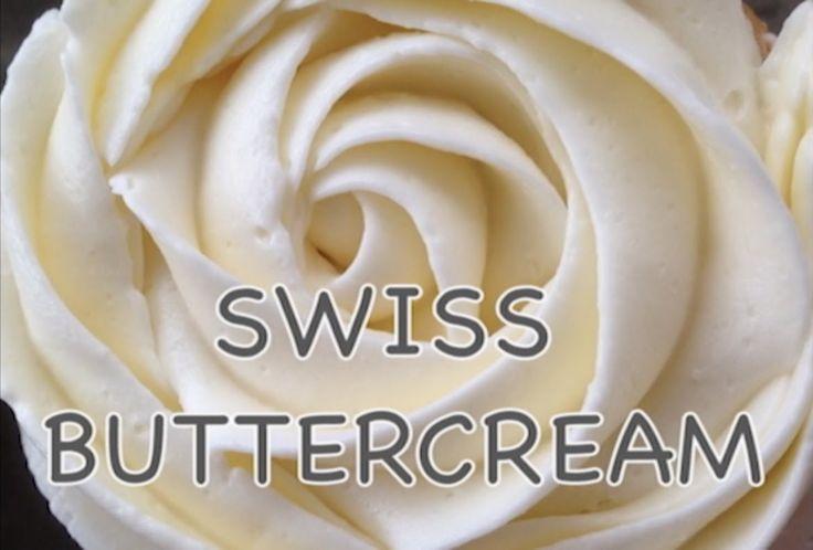 Swiss Buttercream /Масляный крем на Швейцарской меренге /ISVICRE YAGLI K...