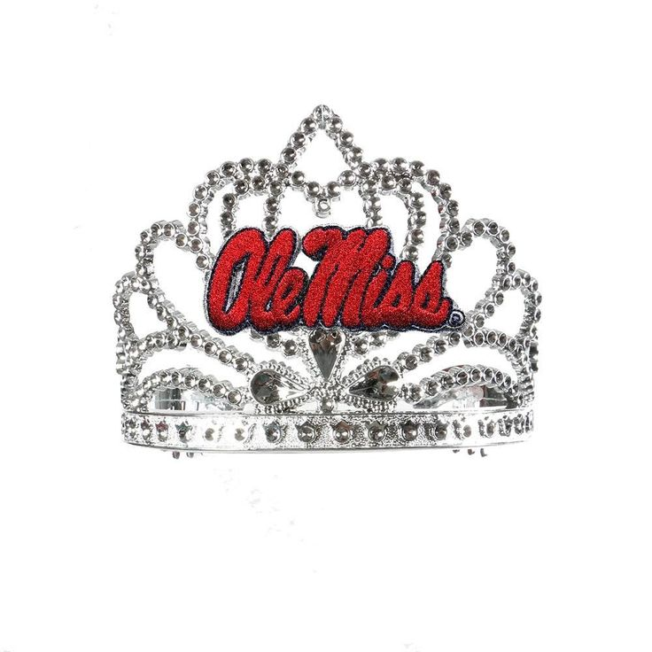 Mississippi Rebels NCAA Crown Tiara