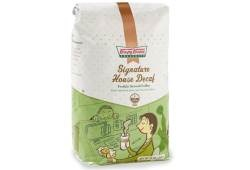 Krispy Kreme Signature House Decaf- A decaffeinated blend of Columbian and Sumatran coffee with all the taste and none of the jitters. {Pairs perfectly with any filled doughnut variety. Make it an indulgent treat with a Glazed Raspberry Filled Doughnut.}