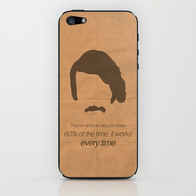 Brian Fantana no 1 iPhone & iPod Skin by OurbrokenHouse - $15.00