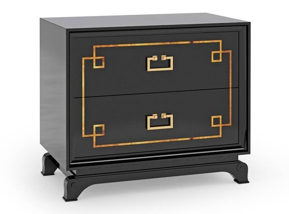 Epoca, Galatea Bedside 2 Drawer Chest, Buy Online at LuxDeco