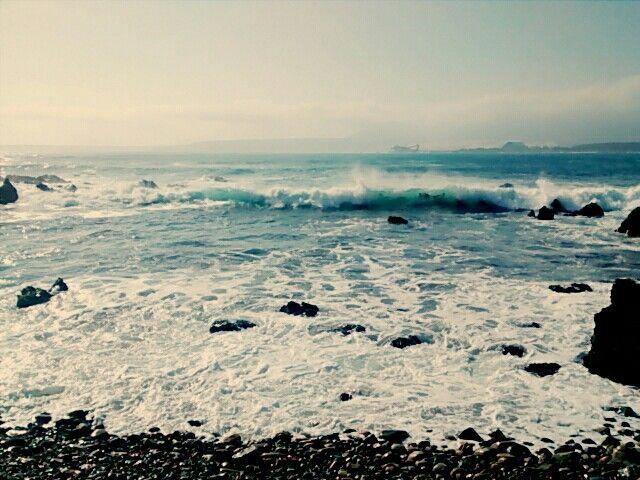 Playa, Los Vilos , Chile