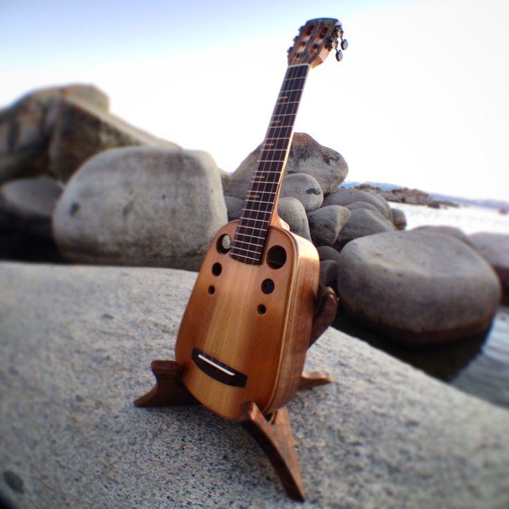 TyDe Ukulele Stand- Handmade hardwood uke stand.