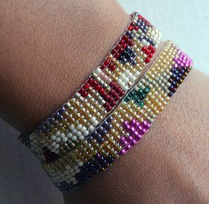 24 Best Images About Jewel Loom Tutorials On Pinterest