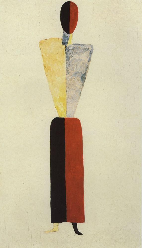 Suprematism - Kazimir Malevich - WikiPaintings.org