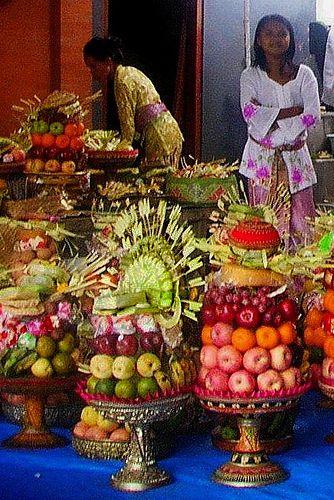 Nyepi offerings,bali