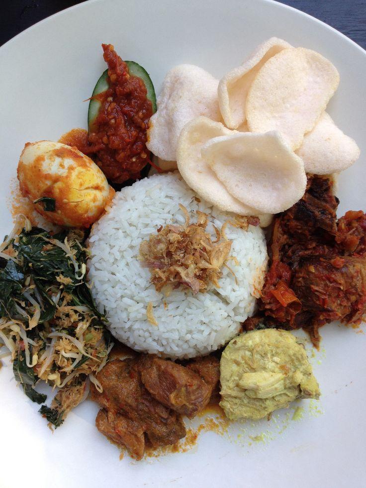 Nasi Campur#Food#Bali