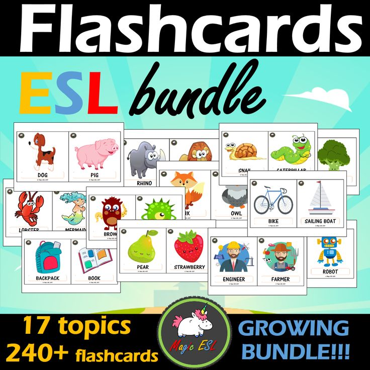 18 sets of beautiful flashcards for FREE ;)