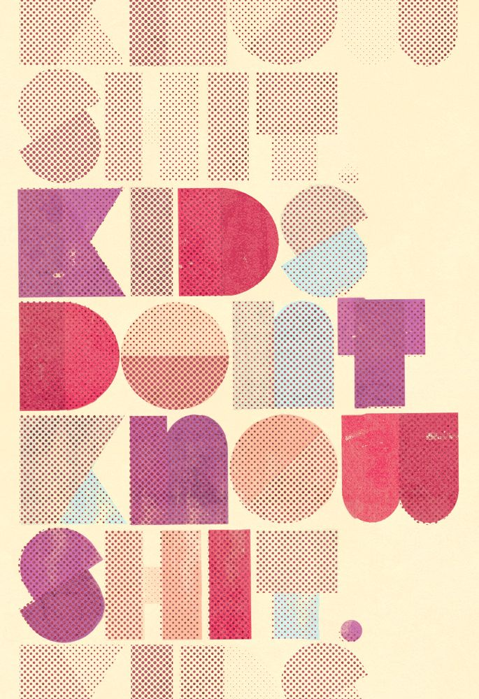 #typography #poster