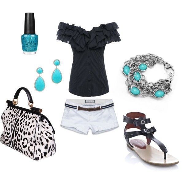 : Summer Fashion, Adorable Outfits, Pop Of Colors, Dreams Closet, Cute Outfits, Spring Summer, Leopards Bags, Colors Together, My Style