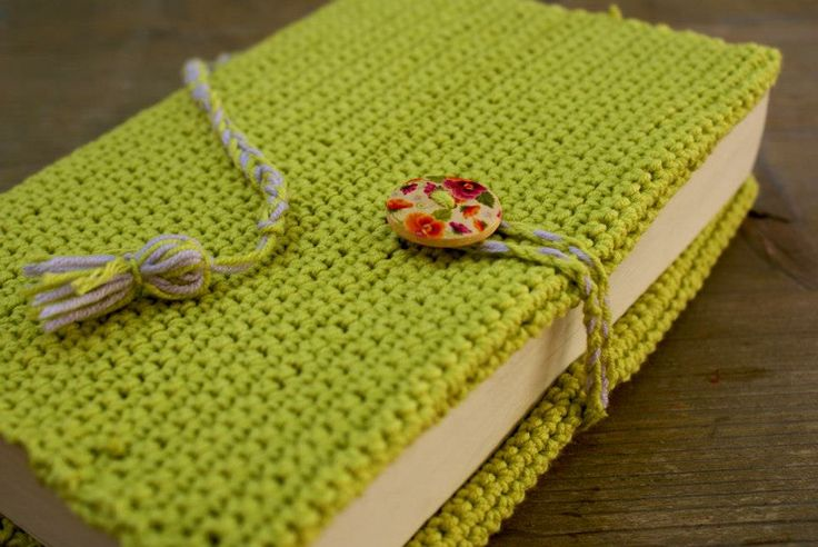 Knitting Pattern Book Cover : 1000+ images about Knit and Crochet Book Covers on Pinterest Handmade books...