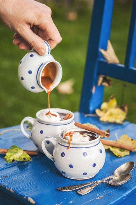 Poctivou domácí čokoládu doplňte špetkou skořice a slaným karamelem; Eva Malúšová