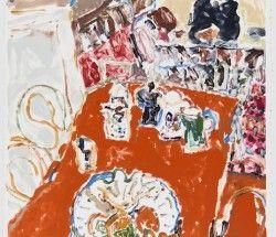 Elisabeth Cummings-The Orange Table