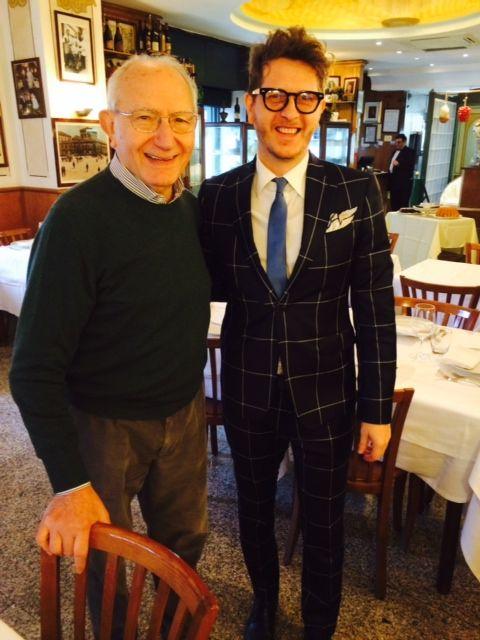 Umberto Palermo da Mimì alla ferrovia, storico #ristorante di #Napoli, interprete della cucina campana da tre generazioni.
